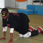 Camper plays goalball!